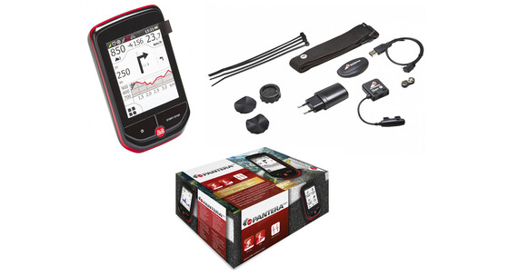 Falk Pantera 32 Plus GPS incl. hart - en trapfrequentiesensor